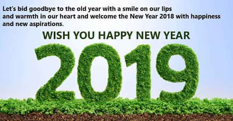 Happy New Year 2019 Status Massage Quotes Images