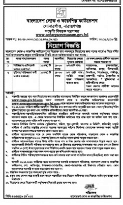 Ministry of Cultural Affairs Job Circular 2018
