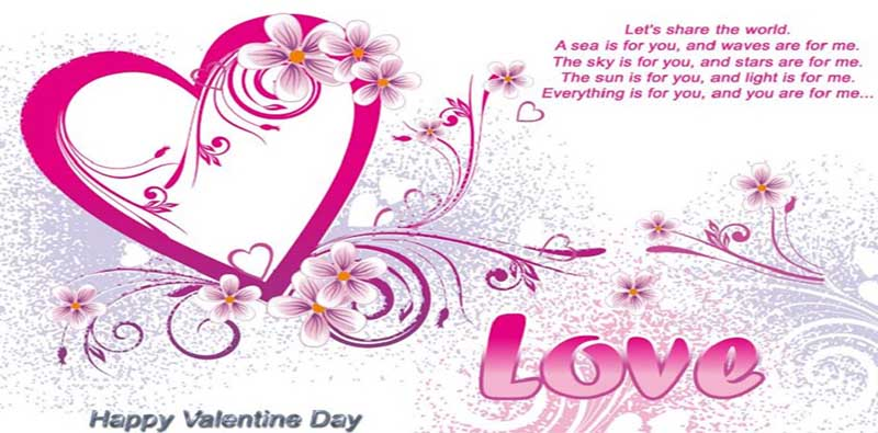 Happy Valentine's Day Images, Cards, Sms and Quotes 2018