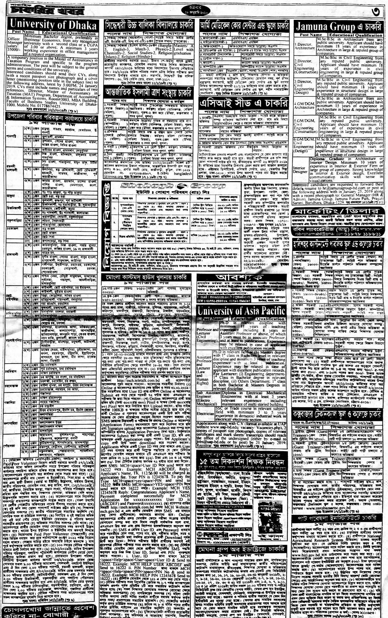 Weekly Jobs Newspaper 11 January 2019