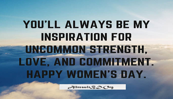 Happy Women's Day Quotes, SMS Message With Images